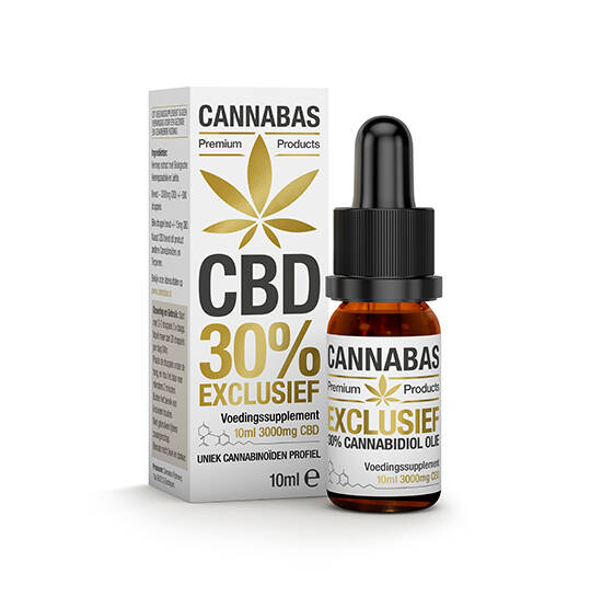 CBD 30% Exclusief full spectrum hennepzaad olie in 10 of 30 Ml