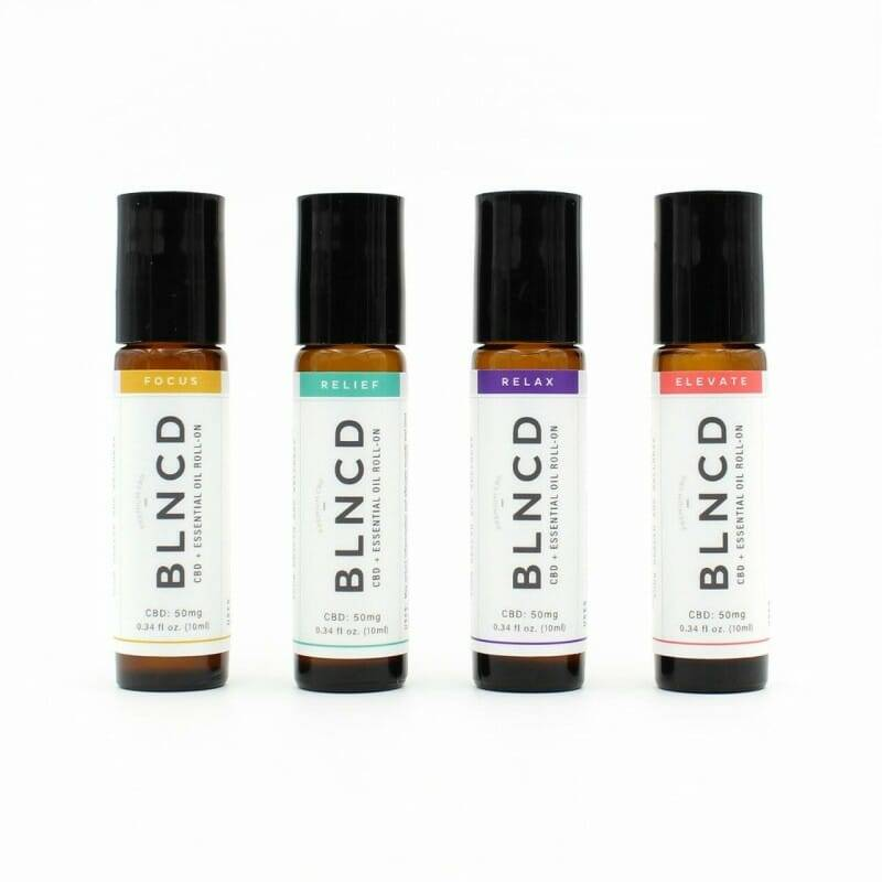 CBD + Essential Oil Roll-On – Discovery Kit | SALE!