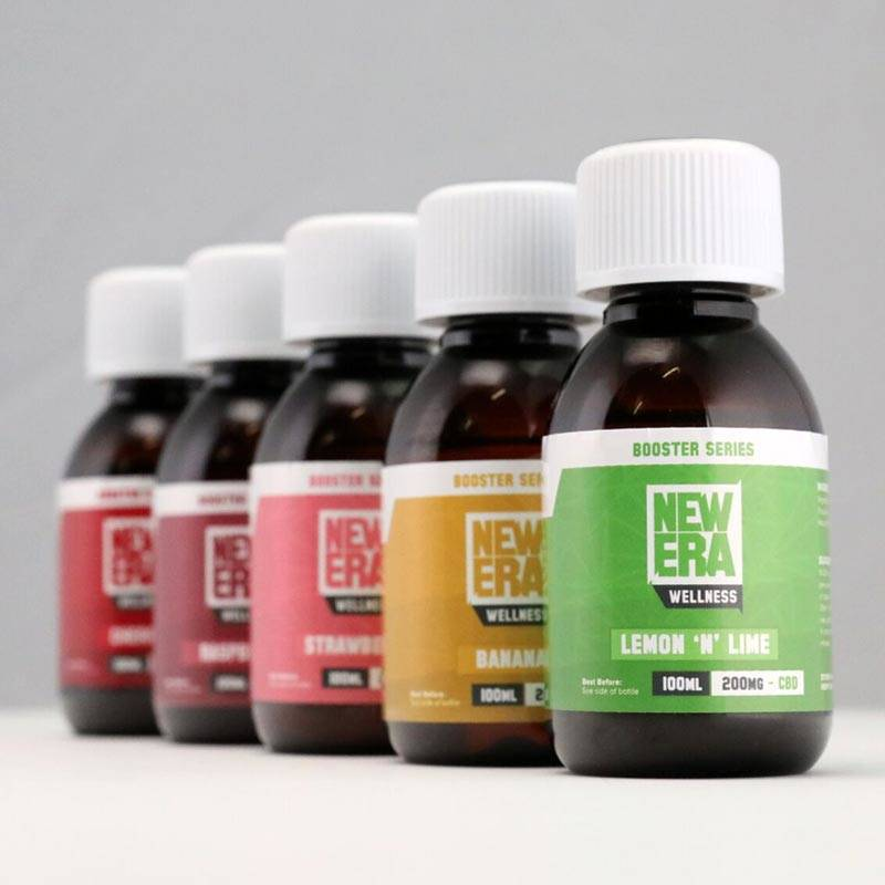 NEW ERA CBD BOOSTER 100ML – 200MG Mixes best with CBDSPORTS WATER!