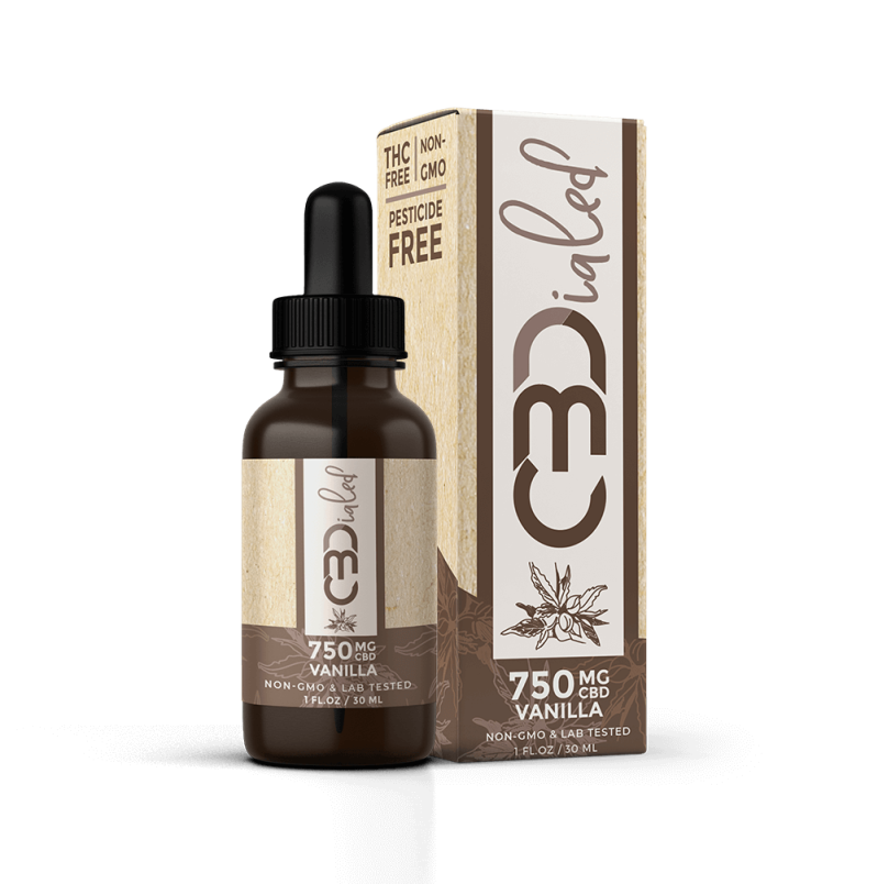 CBDialed | Vanilla CBD Wellness Tincture