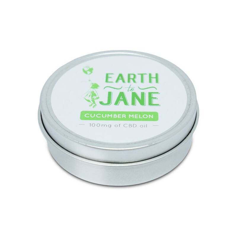 Earth To Jane | CBD Balm Relief | Cucumber Melon