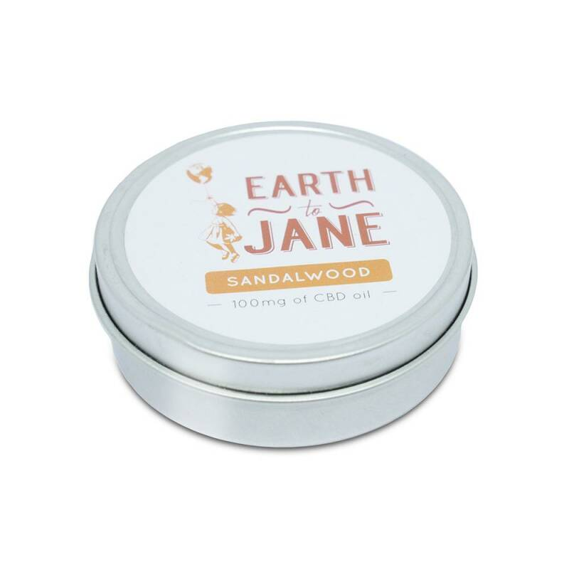 Earth To Jane - CBD Balm Relief - Sandalwood
