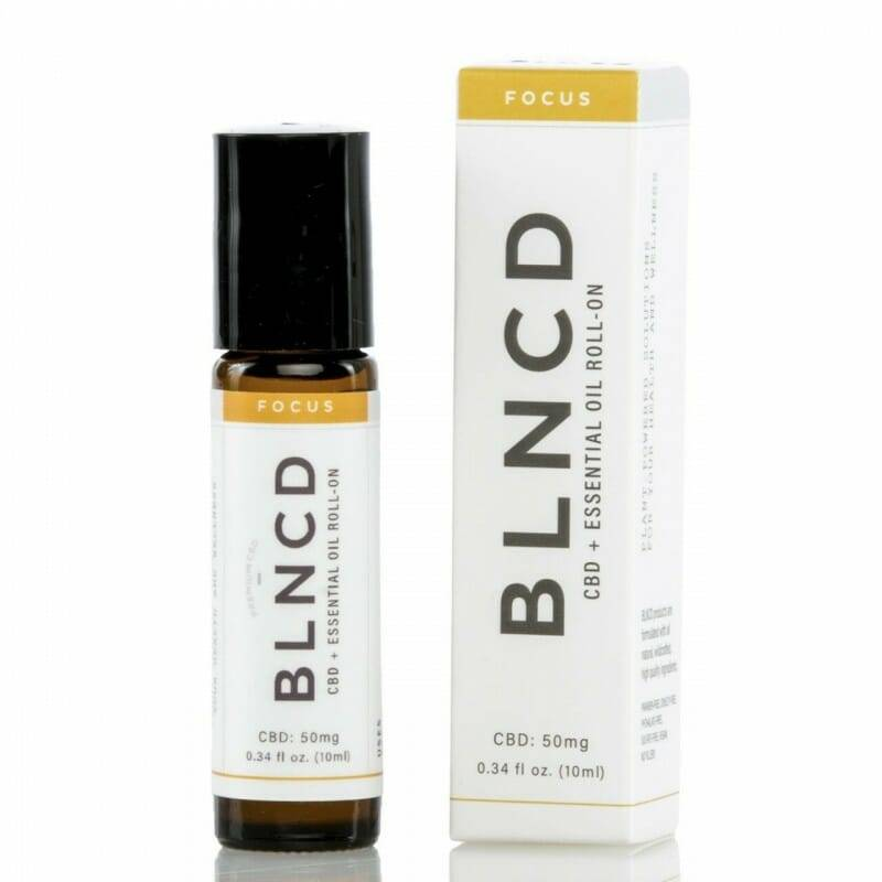 | BLNCD | CBD + Essential Oil Roll-On | Aroma Therapy | FOCUS |