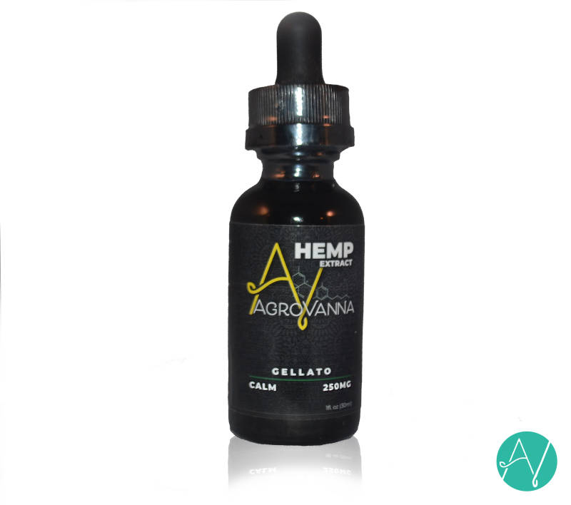 Agrovanna | Hemp Extract Calm taste Gellato