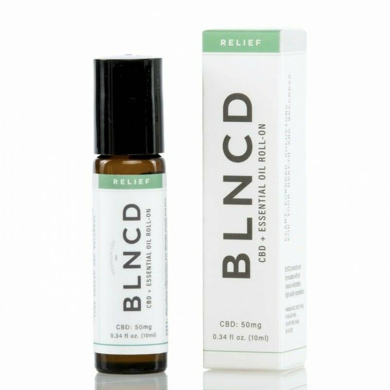 | BLNCD | CBD + Essential Oil Roll-On | Aroma Therapy | RELIEF