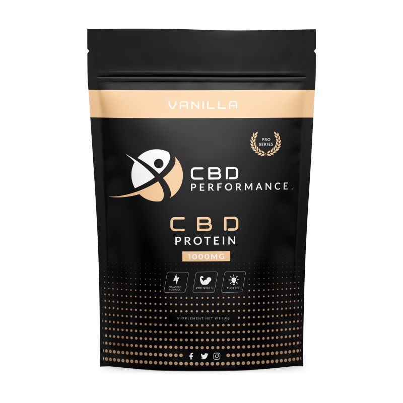 CBD PROTEIN VANILLA | PRO SERIES (Pre-Order for November)