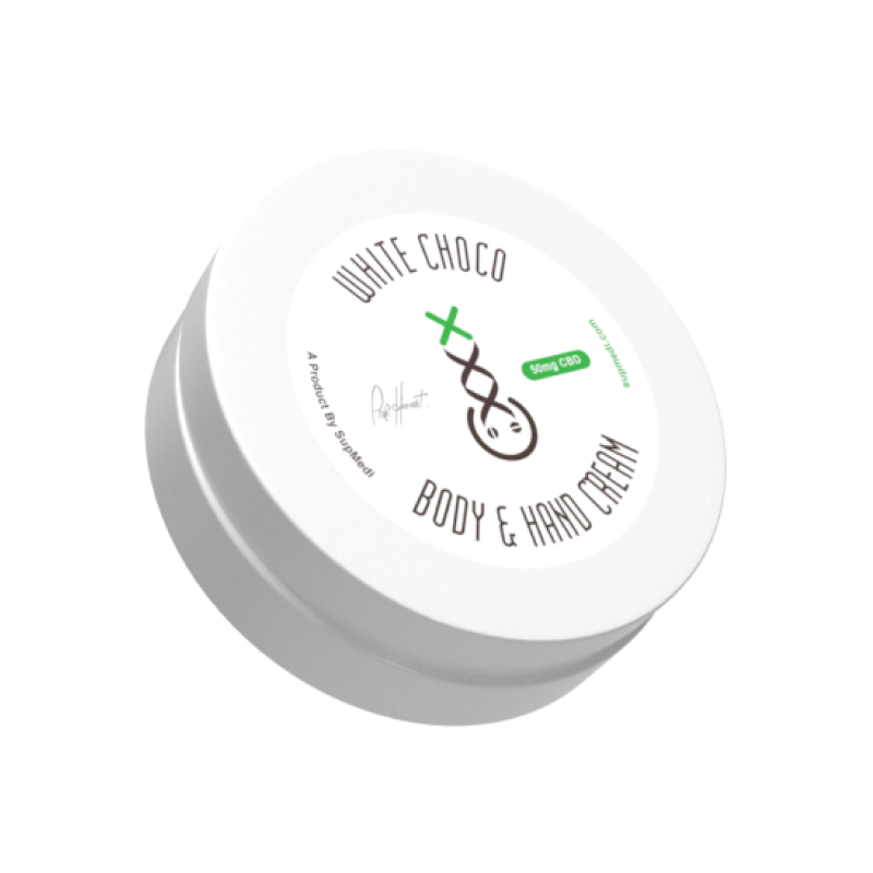 SupMedi Body & Hand Cream with CBD