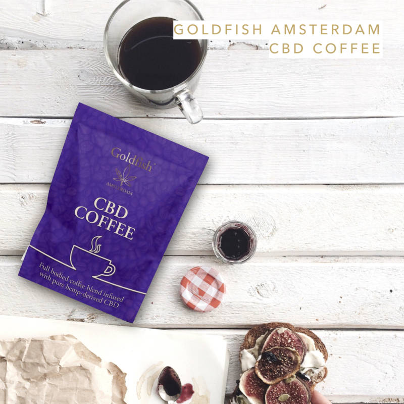 GOLDFISH AMSTERDAM COFFEE WITH HEMP CBD