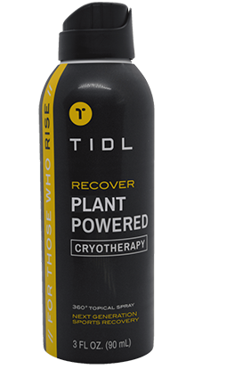 | TIDL | RECOVER | Connor Mc Gregor's Cryotherapy Topical Spray | 500Mg CBD | 90 Ml | THC 0%