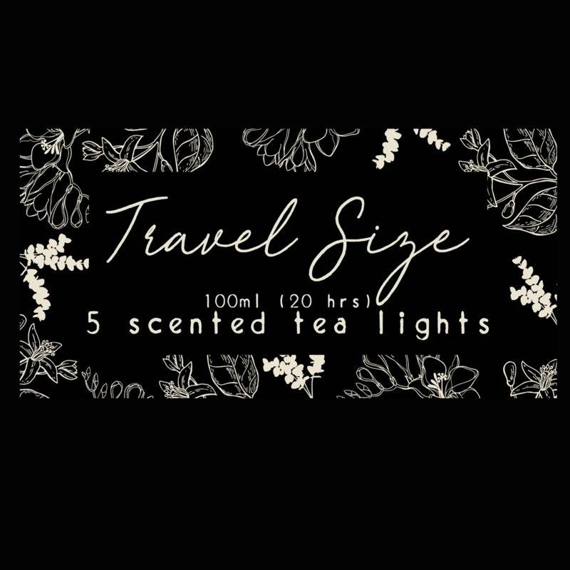 S.O.O.S. Travel size, 5 tealights. Volume 1
