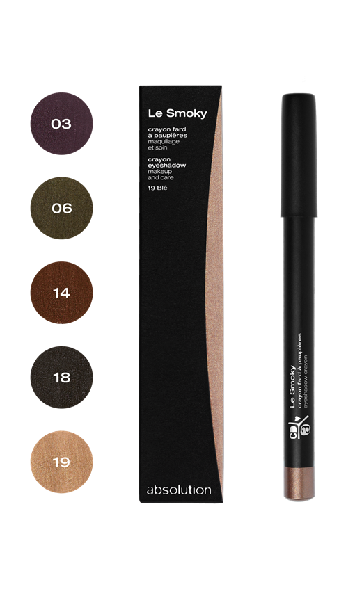 Absolution Oogschaduw Le Smoky 18 Charbon