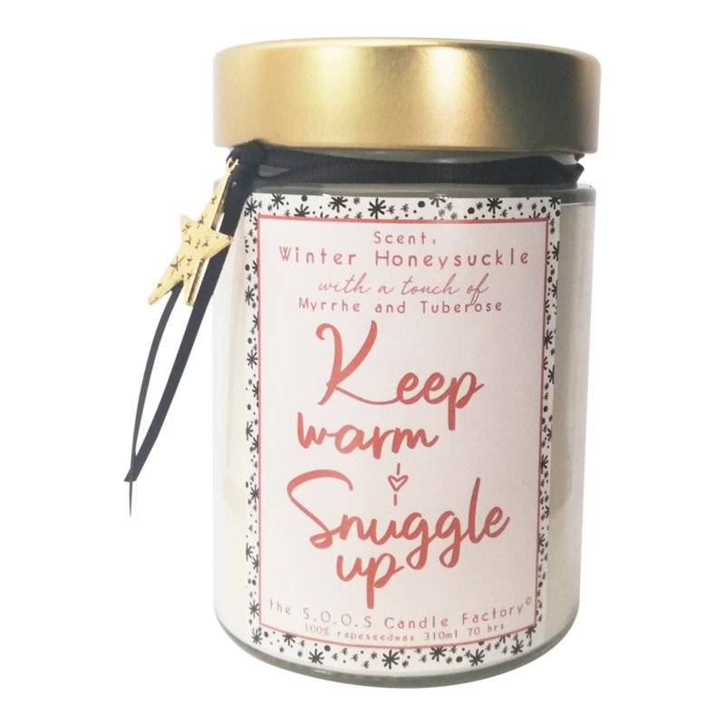 S.O.O.S. Limited Edition, The feel good candle