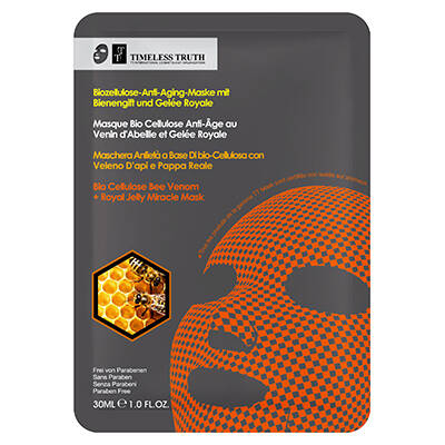 Timeless Truth BIO CELLULOSE BEE VENOM + ROYAL JELLY MIRACLE MASK