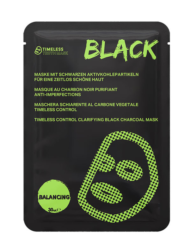 Timeless Truth CONTROL CLARIFYING BLACK CHARCOAL MASK