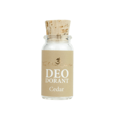 The Ohm Collection Cedar Deodorantpoeder (mini)