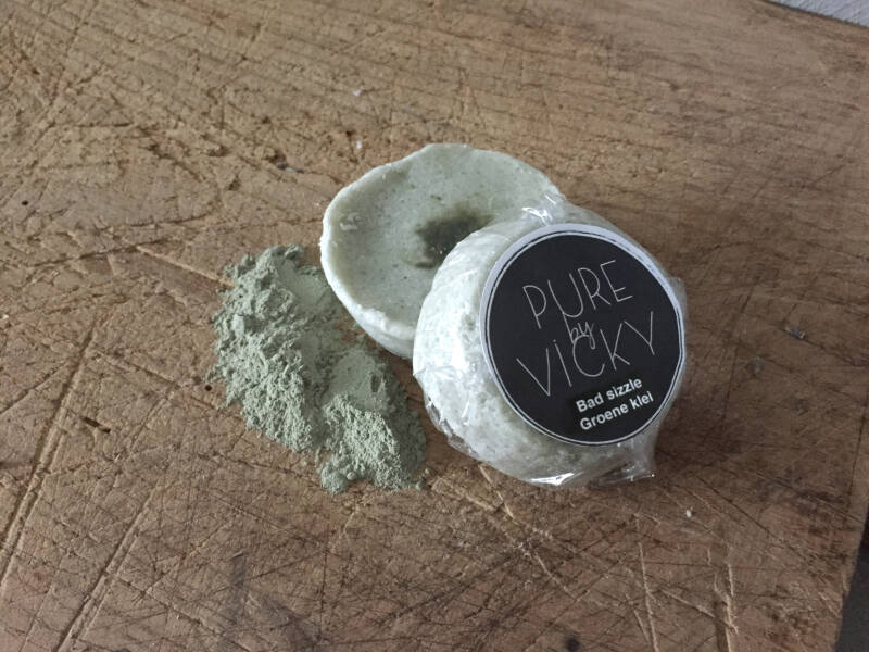 Pure By Vicky Bathsizzle Groene Klei