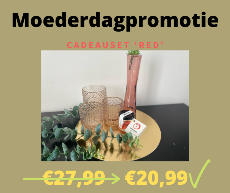 CADEAUSET 'RED'