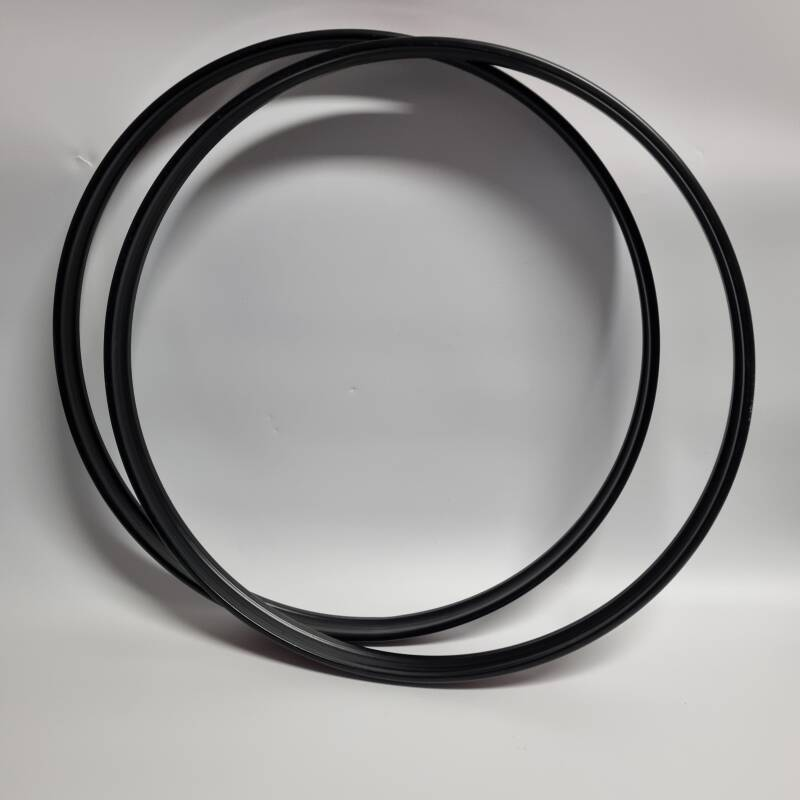 """USED 22"""" bass drum hoop with black inlay"""