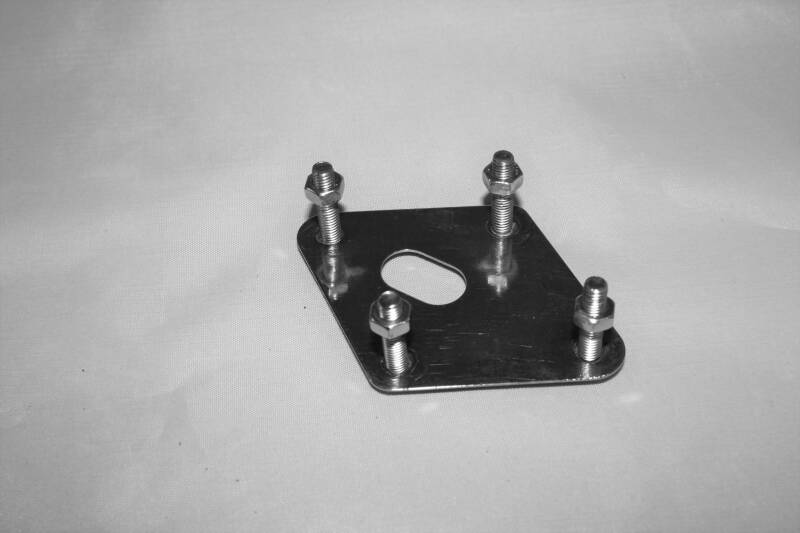 USED bass drum spur bracket plate