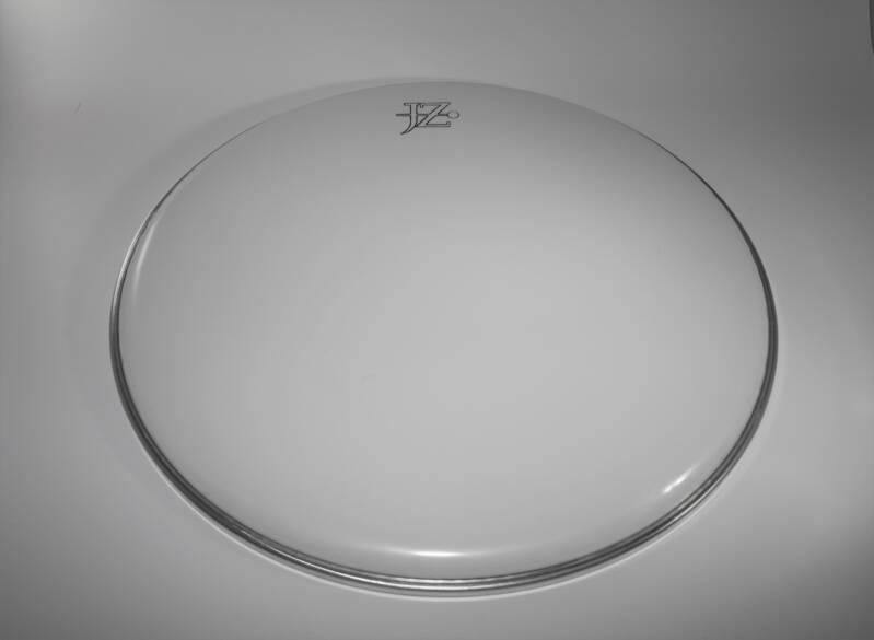 "NEW JZ 12"" drum head white"