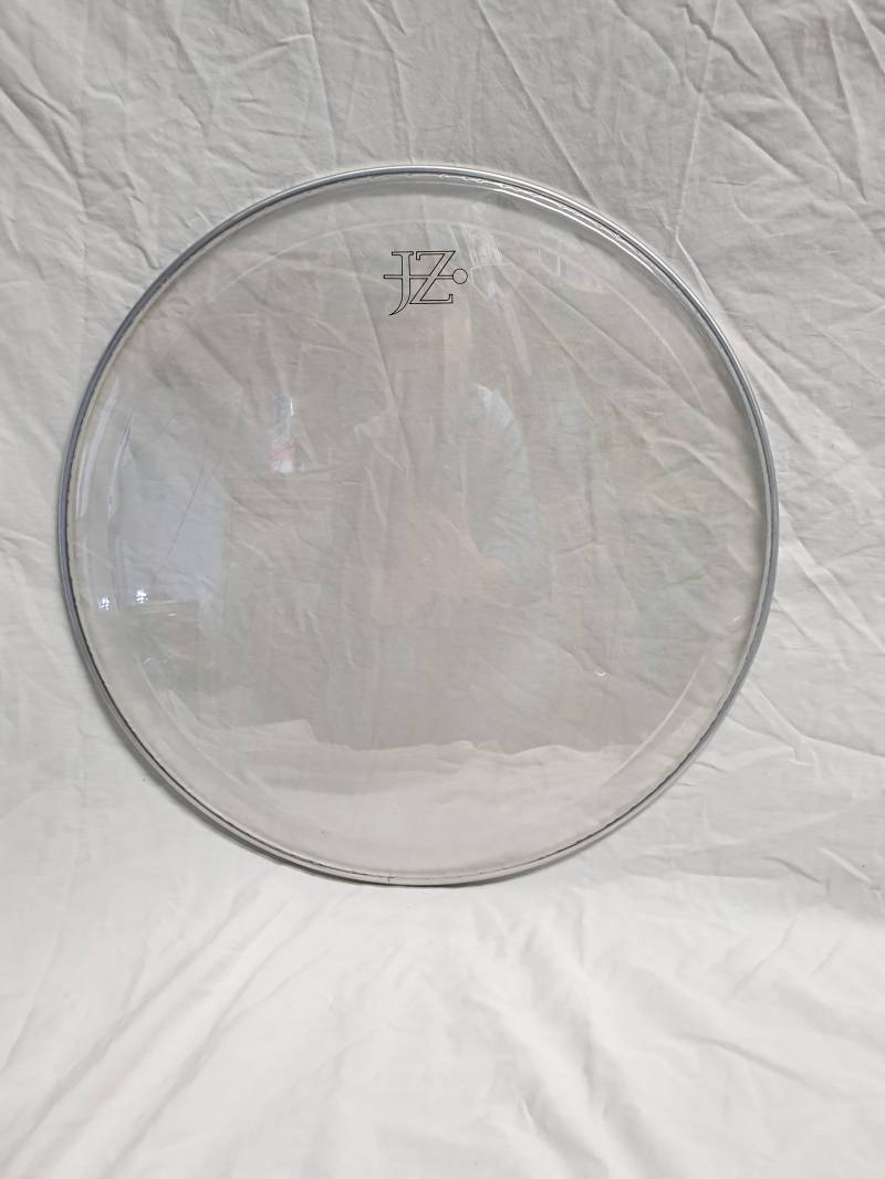 """NEW JZ 18"""" clear drum head with ring"""