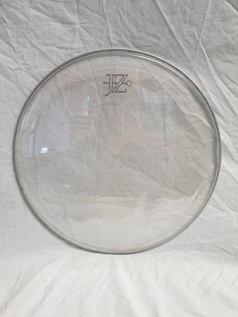 """NEW JZ 18"""" pinstripe clear drum head with ring"""