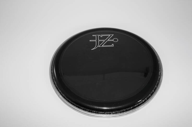 "NEW JZ 8"" drum head pinstripe black"