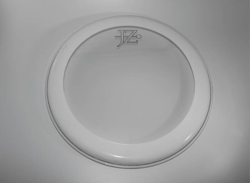 "NEW JZ 15"" drum head pinstripe clear"