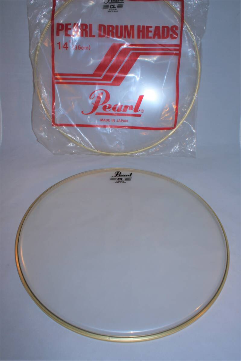 NEW Pearl drum head CL clear 14""