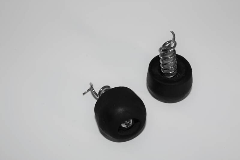 NEW drum rubber foot with spring