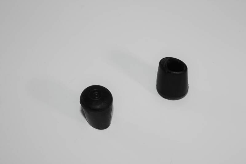NEW drum rubber foot oval hole 7 x 11 mm