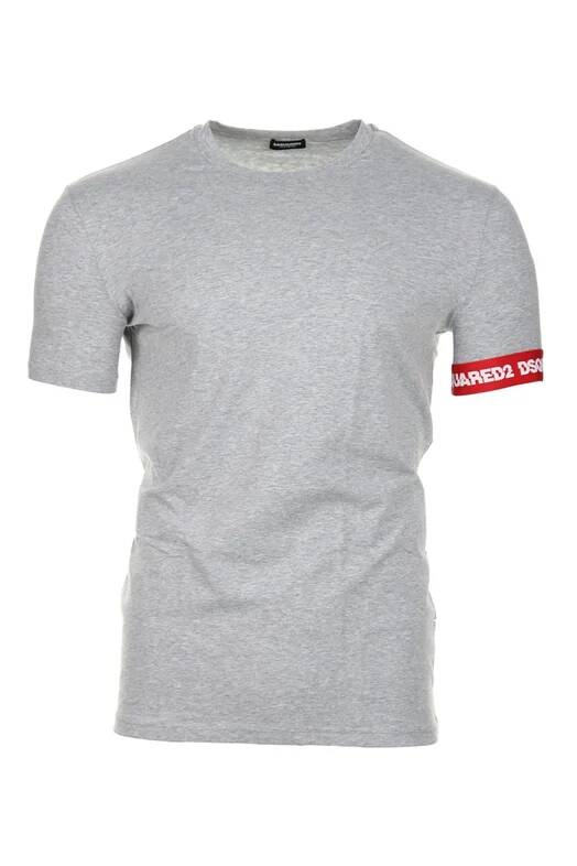 Dsquared T-shirt basic grijs