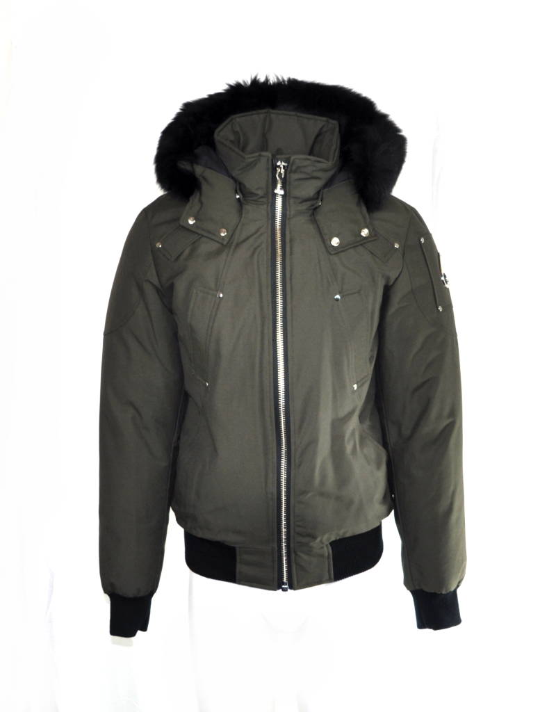 Moose Knuckles Balisitic Bomber Winter Jas Olijfgroen Olive