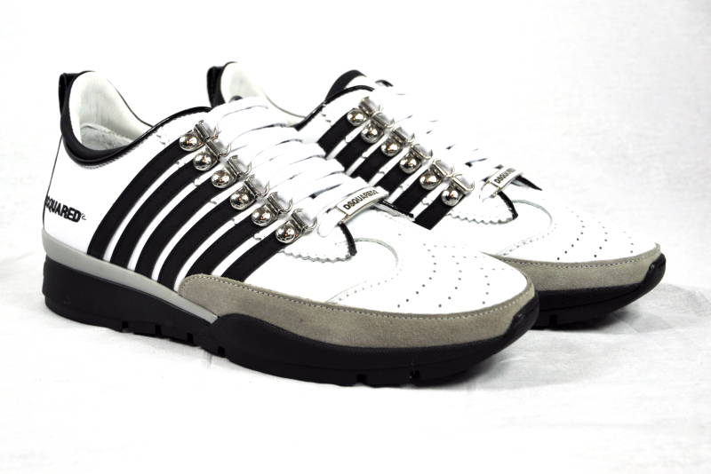 Dsquared2 251 Sneakers White Wit - AW1819