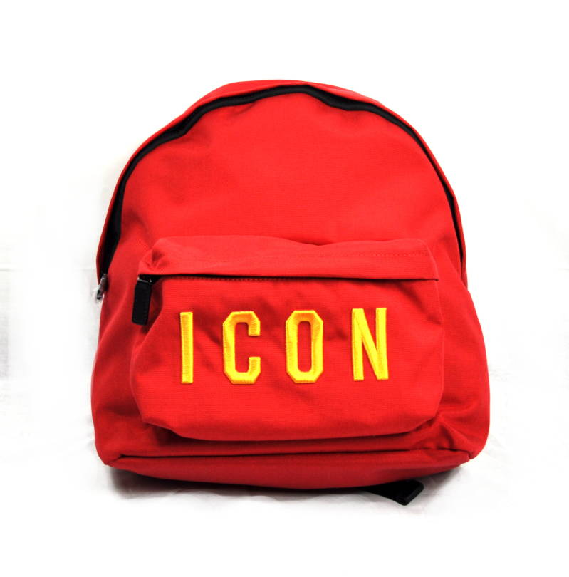 Dsquared2 Icon Backpack Red Rugtas Rood