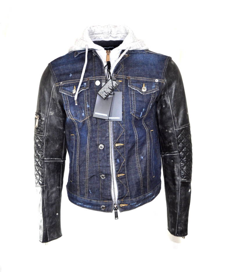 Dsquared2 Rookie Dan Denim Jacket Jas - AW1819