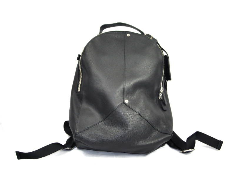 Dsquared2 Leather Black Backpack Zwart Leer - AW1819