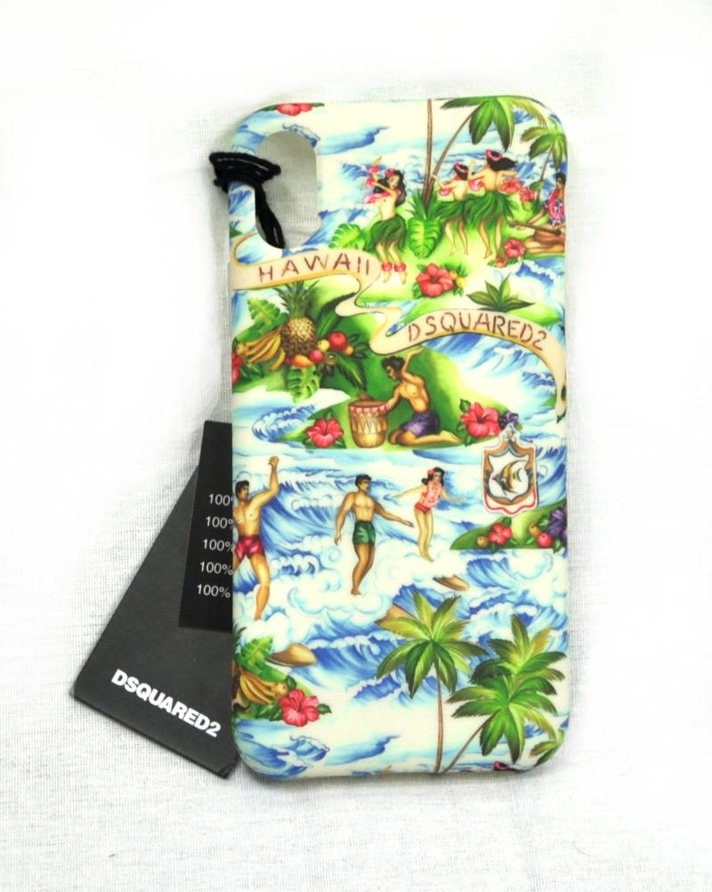 Dsquared2 Case iPhone X Hawaii Hoesje