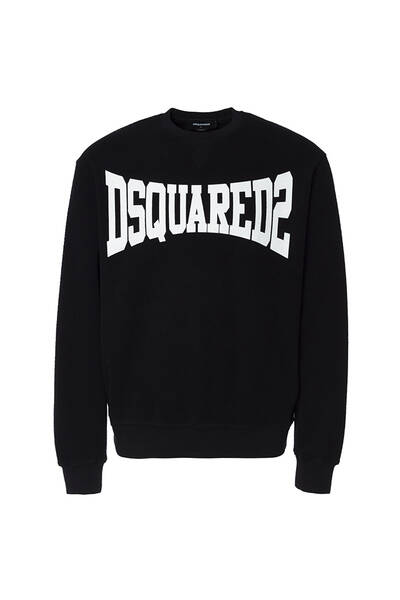 Dsquared sweater zwart/wit