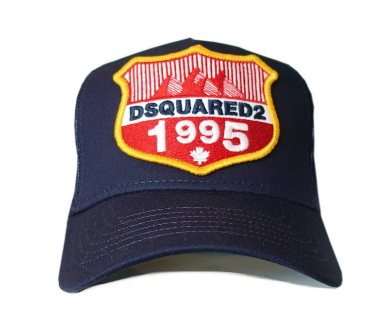 Dsquared2 Cap Rocky Mountains Donkerblauw - AW1819