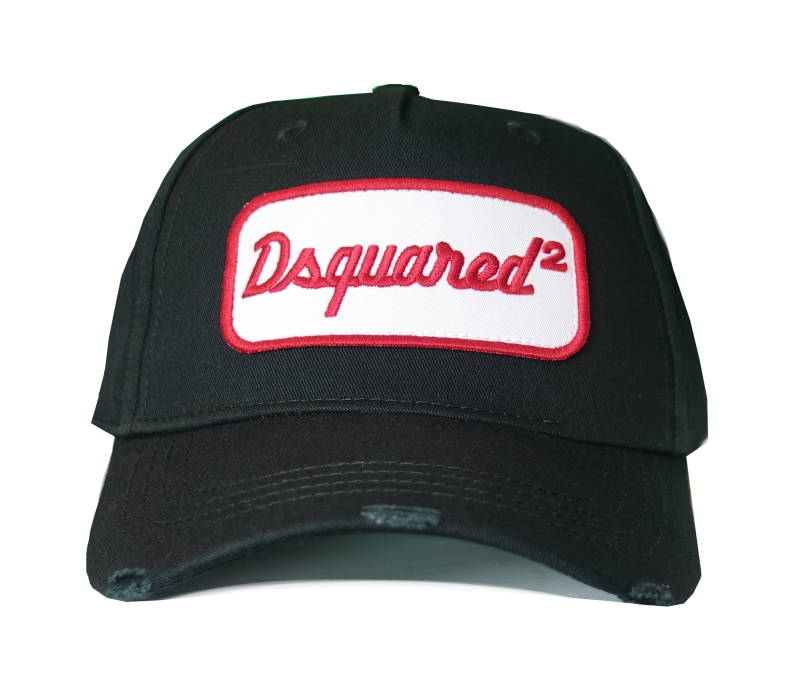 Dsquared2 Cap Dsquared2 Patch Zwart - AW1819
