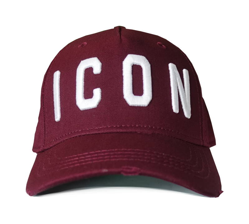 Dsquared2 Cap ICON Bordeauxrood - AW1819