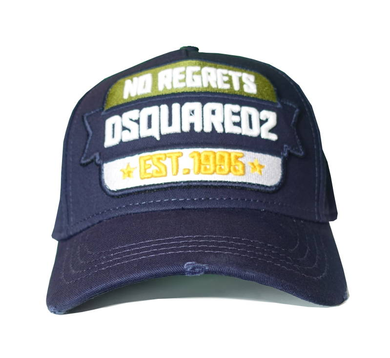 Dsquared2 Cap No Regrets Donkerblauw - AW1819