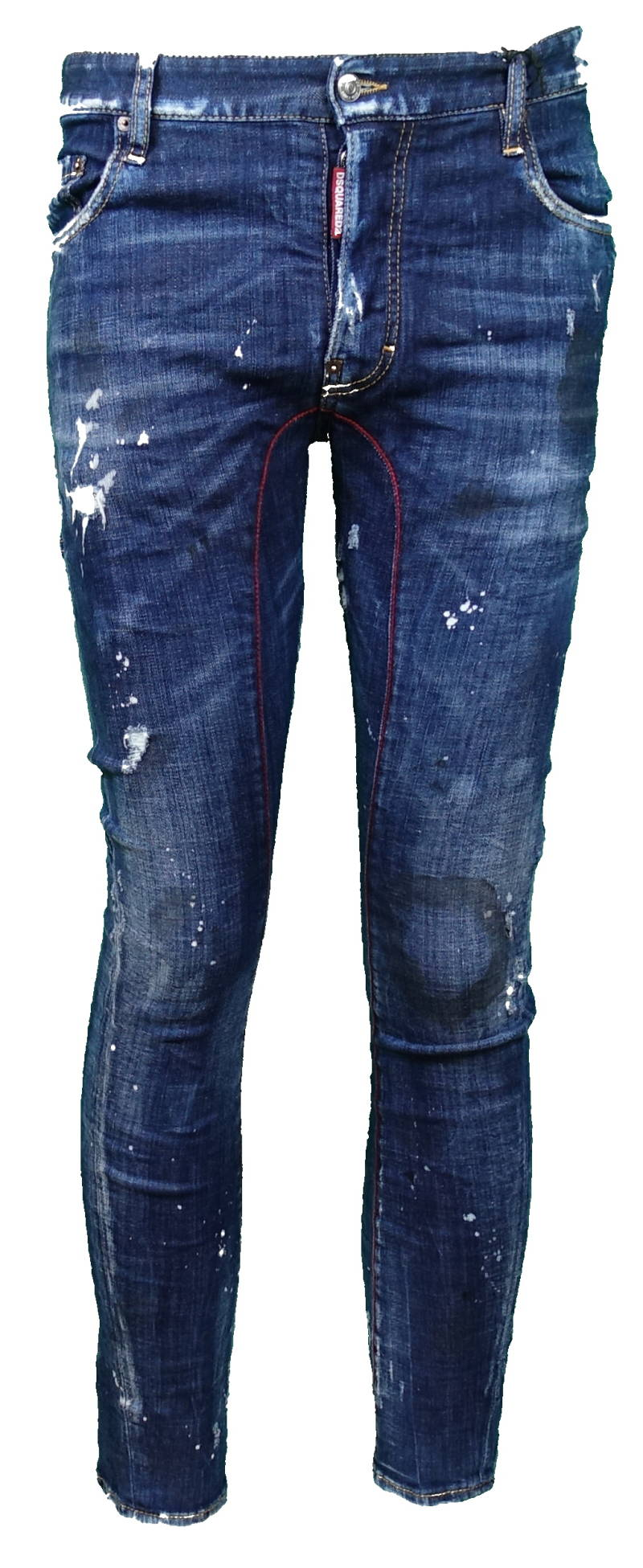 Dsquared2 'Tidy Biker Jean' raw-cut jeans - AW1819