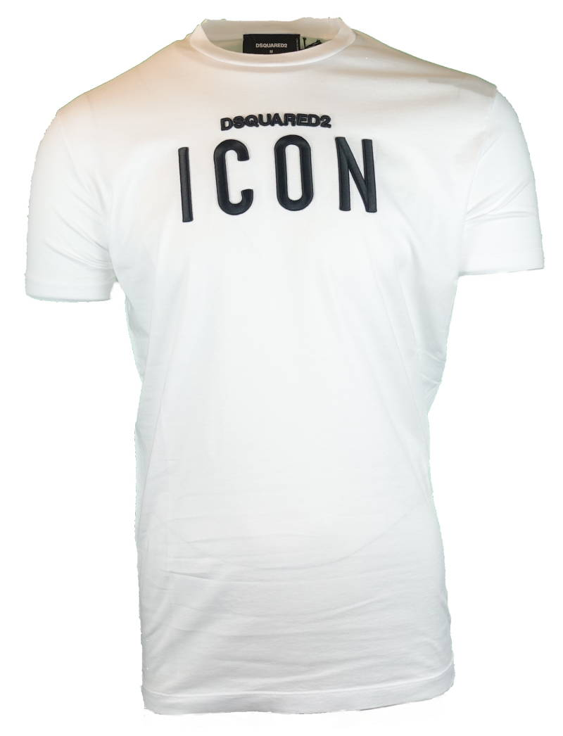 DSQUARED2 Icon T-shirt Wit - AW1819