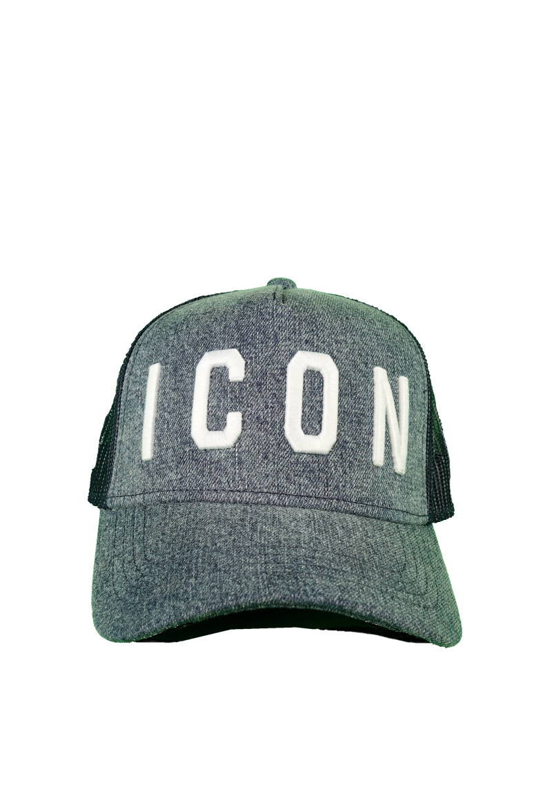 DSQUARED2 ICON Baseball Cap Grijs - AW1819