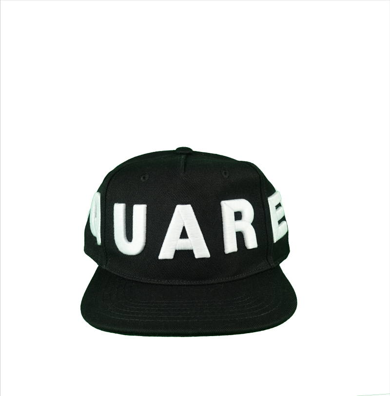 DSQUARED2 Embroided Baseball Cap Zwart - AW1819
