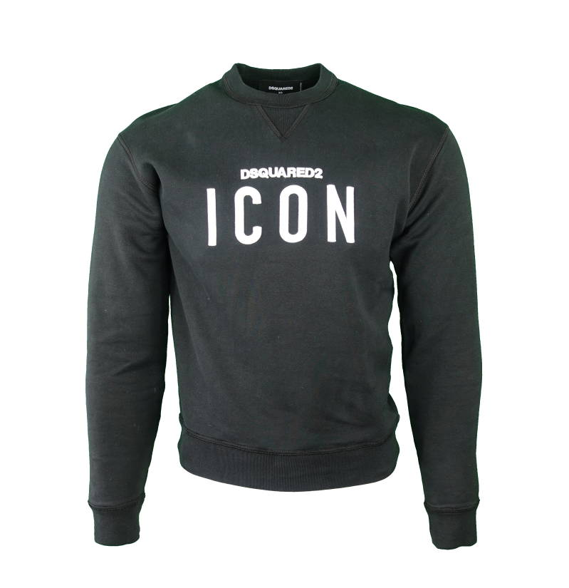 DSQUARED2 Icon Sweater Zwart - AW1819