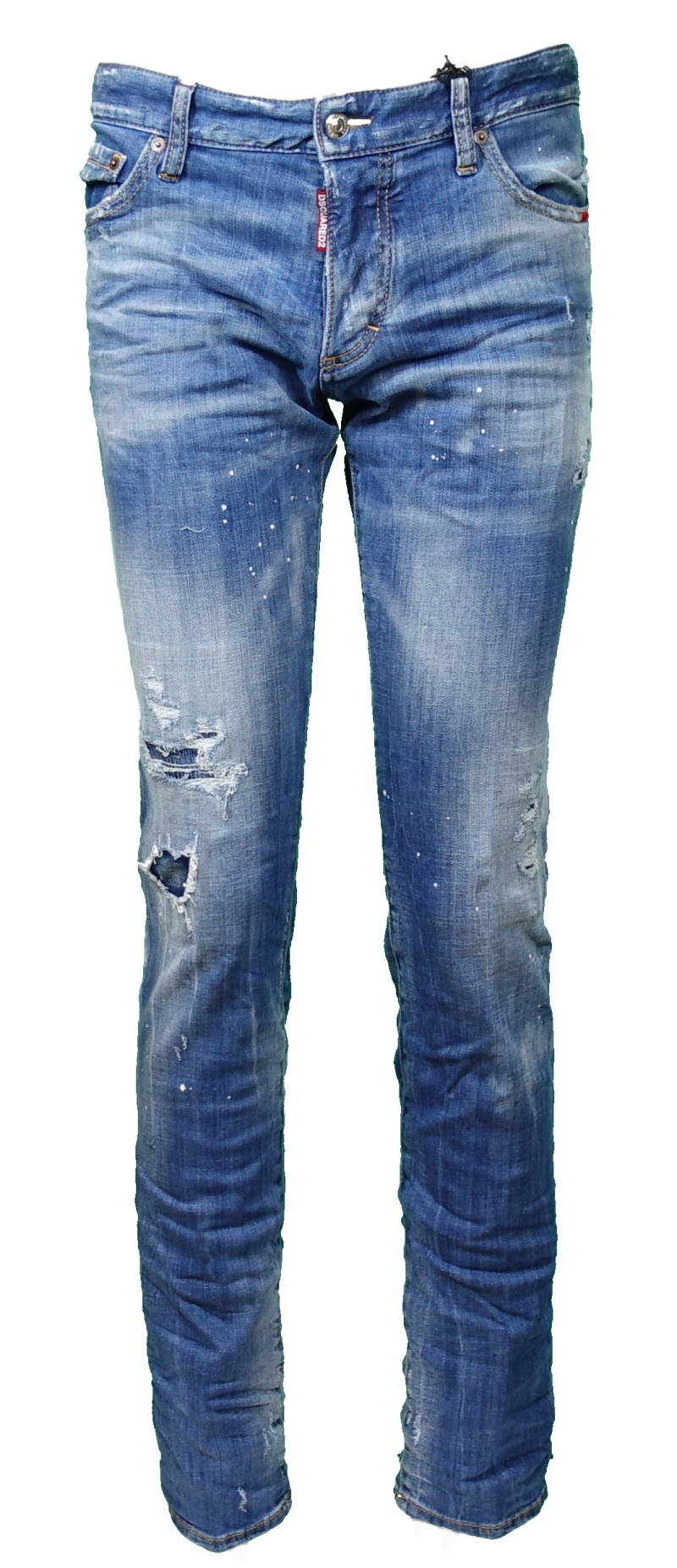 DSQUARED2 Proud Canuck Jeans Slim J Blue - AW1819