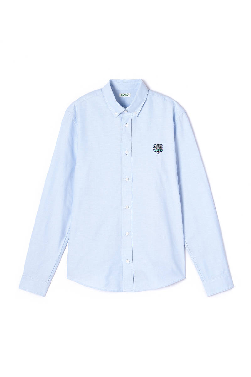 Kenzo tiger crest oxford shirt